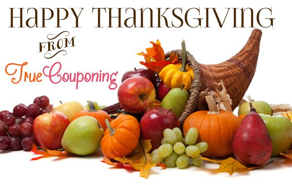 Happy Thanksgiving from TrueCouponing!