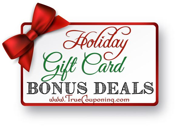 2014 Holiday Gift Card Deals