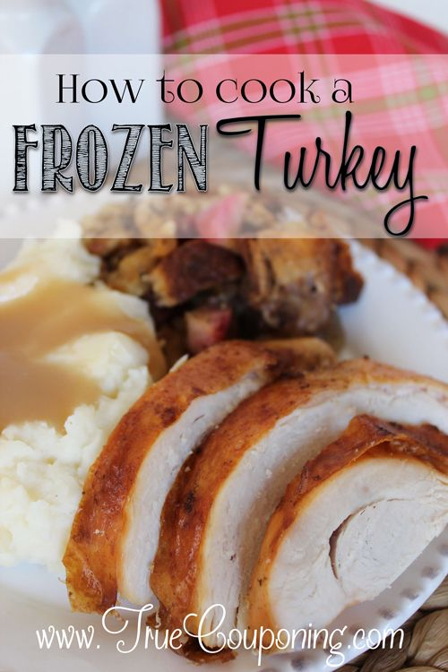 cook a frozen turkey