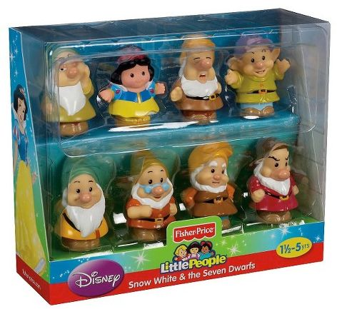Little People Snow White and the Seven Dwarfs Gift Set $9.99 + FREE Shipping!