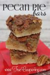 No Need for Crust with These Pecan Pie Bars!