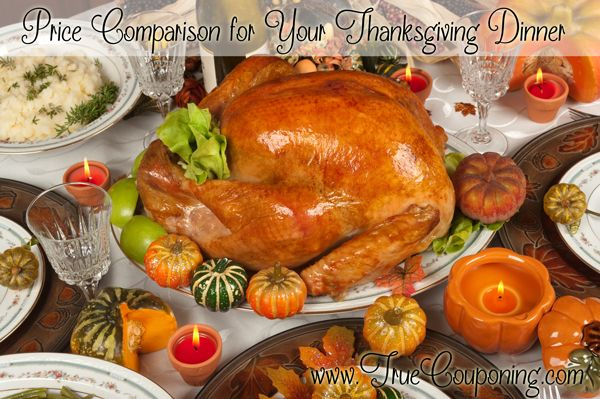 Price-Comparison-for-Your-Thanksgiving-Dinner
