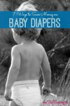 Save Money on Baby Diapers