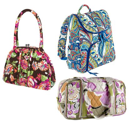 Vera Bradley Sale ~ Up to 70% off Marina Paisley, Portobello Road, English Rose!  Ends 11/9