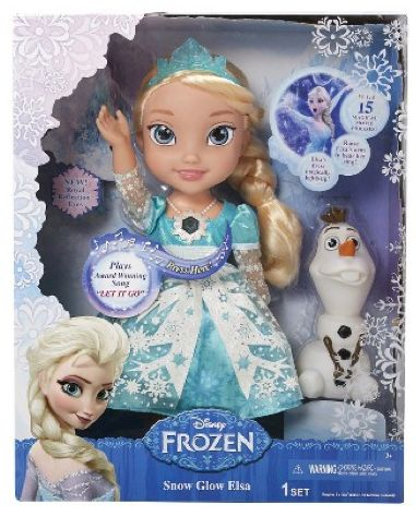 **PRICE CUT** Disney Frozen Snow Glow Elsa $29.99 + FREE Shipping!