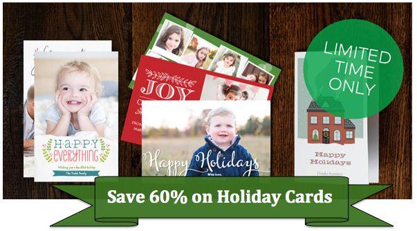 save 60 on holiday cards at vistaprint ends 129 - Vistaprint Holiday Cards