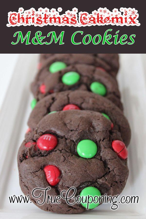 12 days of christmas cookies day 1 christmas cake mix cookies