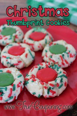Christmas Thumbprint-Cookies