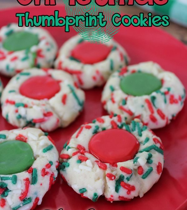 The Best Christmas Thumbprint Cookies To Make This Year