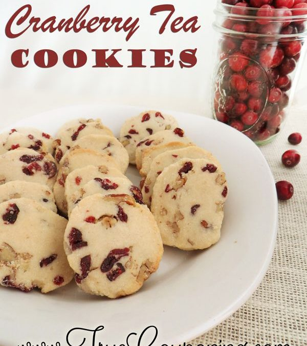 Cranberry Tea Cookies – The Best Cookies You'll Want This Year