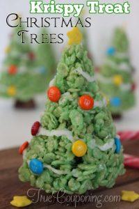 Krispy Treat Christmas Trees