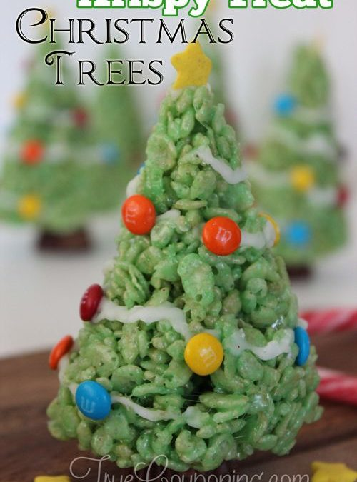 The Best Krispy Treat Christmas Trees You'll Love To Make
