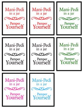 Mani-Pedi Labels