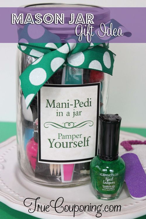 Mani-Pedi Gift in a Jar