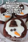 Melting Snowman Cookies ~ 12 Days of Christmas Cookies (Day 4)