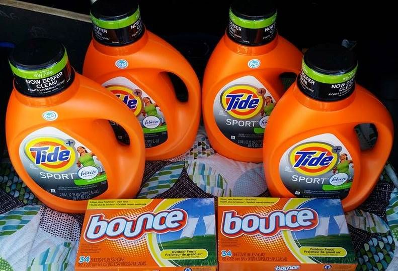 A True Couponing Testimonial from Michelle L.! She spent only $13.24 on all this Tide & Bounce…