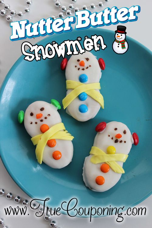 Nutter Butter Snowmen Cookies ~ 12 Days of Christmas ...