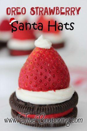 Oreo-Strawberry-Santa-Hats