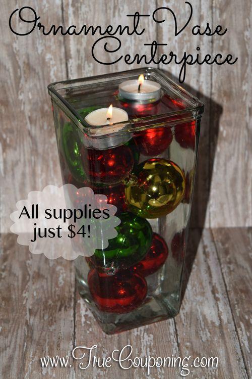 Christmas Decoration Ornament Vase