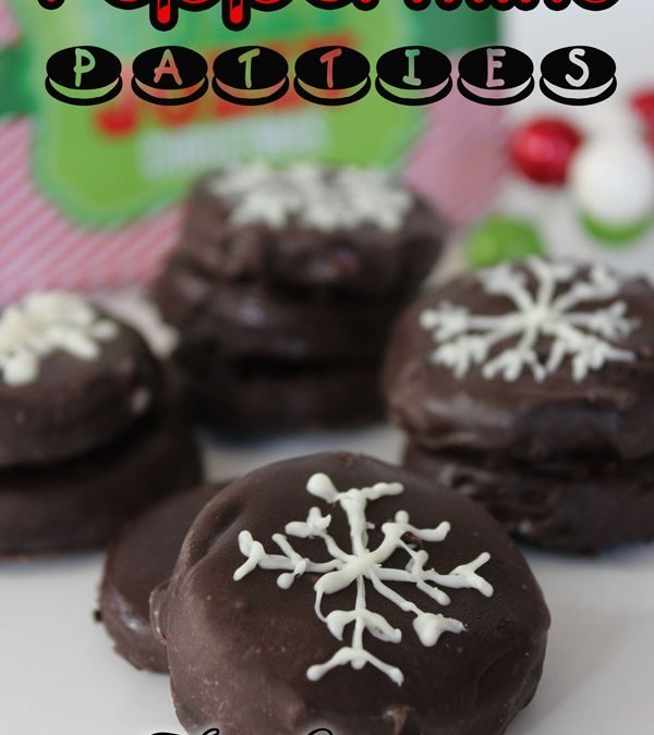Peppermint Patties ~ 12 Days of Christmas Cookies (Day 5)