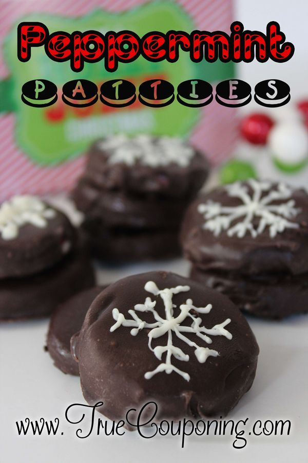 Peppermint Patties - The Best Cookie To Make This Year