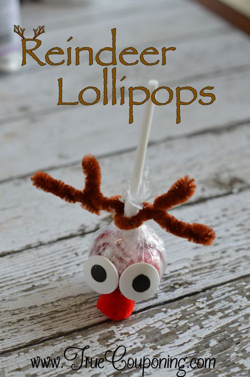 The Best Reindeer Lollipops Christmas Craft To Make This Year