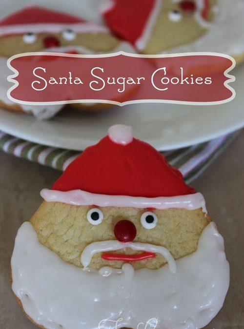 The Ultimate Santa Sugar Cookies You'll Love to Make