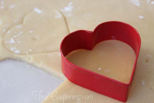 Santa-Sugar-Cookies-Heart-Shape