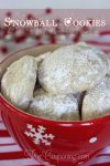 Snowball Cookies ~ 12 Days of Christmas Cookies (Day 11)
