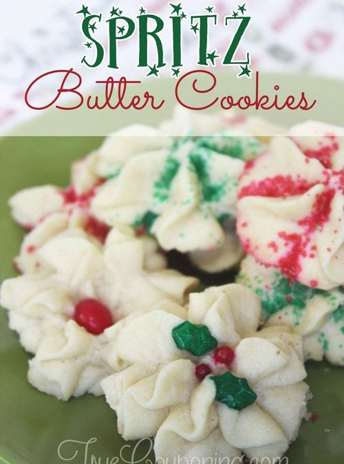 Delightfully Delicious and Easy Holiday Spritz Butter Cookies