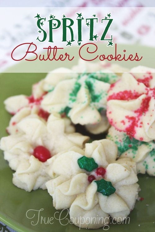 Spritz Butter Cookies - The Cookies You Need To Make Today