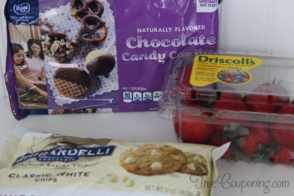 Chocolate-Dipped-Strawberries-Ingredients