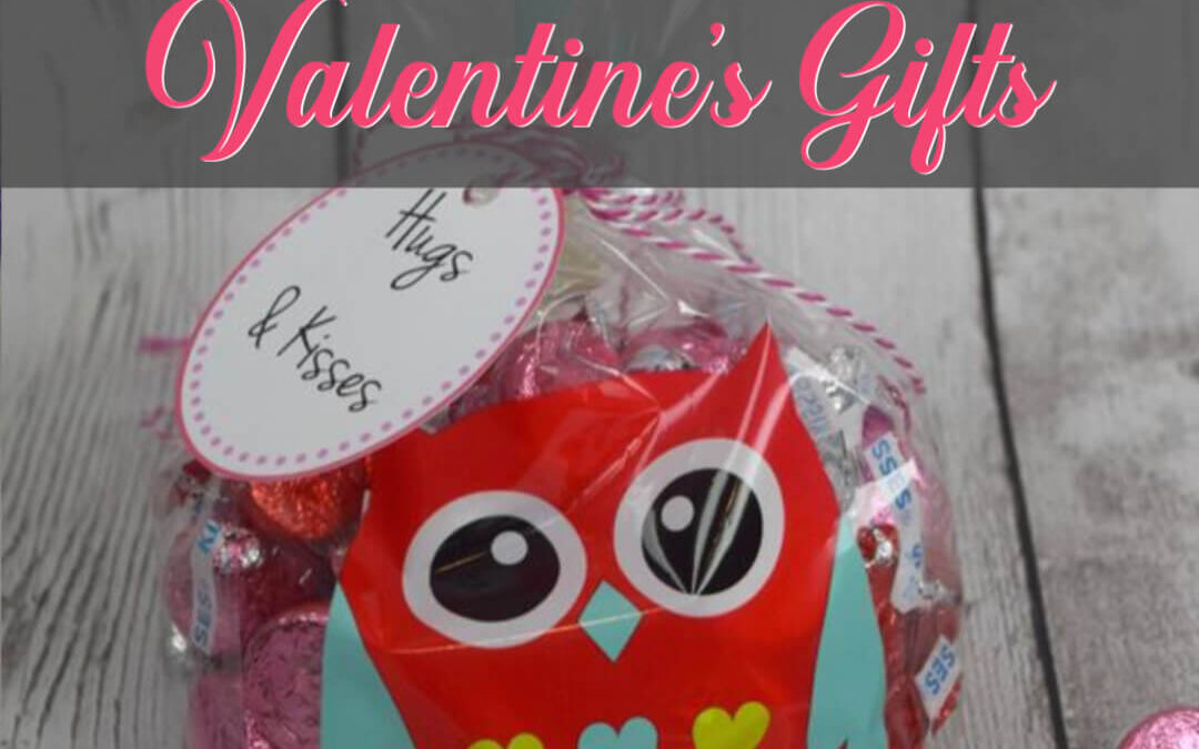 How To Make The Sweetest Hugs & Kisses Valentine's Gifts (FREE Printable Tag)