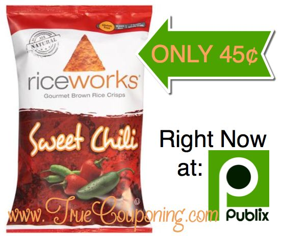 Fox Deal of the Week! Riceworks Gourmet Chips Only $.45 Each Bag! (So Yummy! We Call Them Healthy Doritos!)