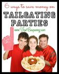 Save Money on Tailgating Parties