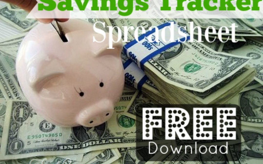 FREE DOWNLOAD! Have Fun and Get Motivated Tracking Your Savings!
