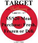 Target 2-1 Meat Coupon