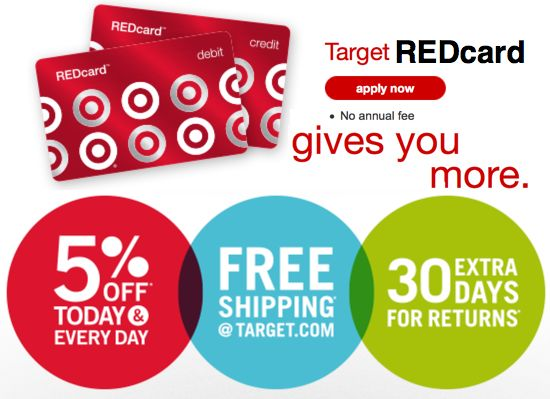 Target REDcard ~ Another Way to Save!