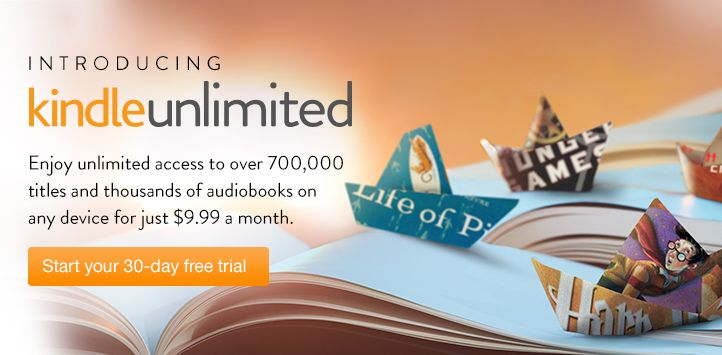 Love to Read? Try Amazon Kindle Unlimited for FREE!