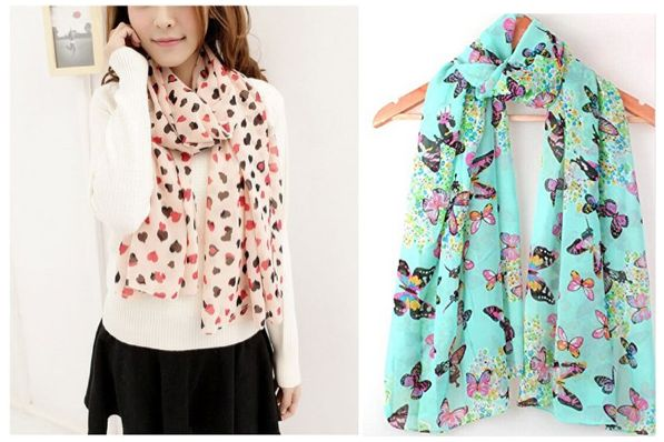 Choose a Scarf Under $3 Shipped!