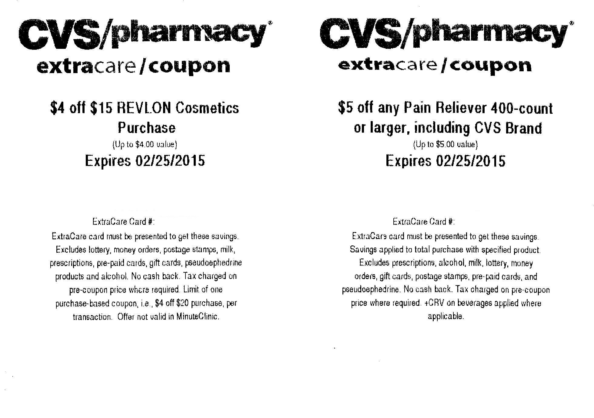 CVS Kiosk Coupons