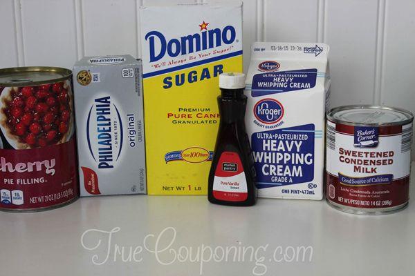 Cherry-Cheesecake-Ice-Cream-Ingredients