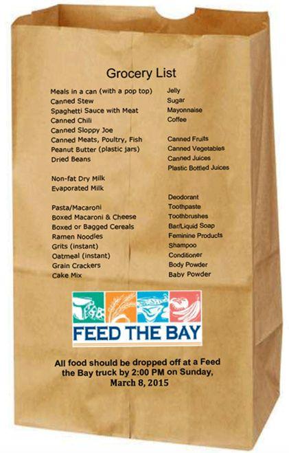 Feed The Bay 2015