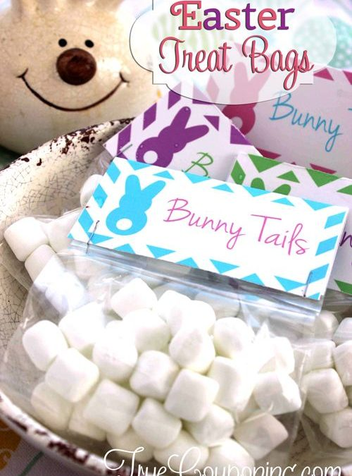 Bunny Tail Easter Treat Bags
