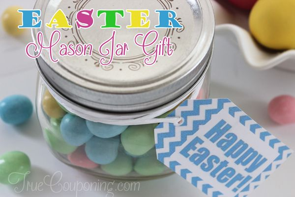 Easter Mason Jar Gift Idea