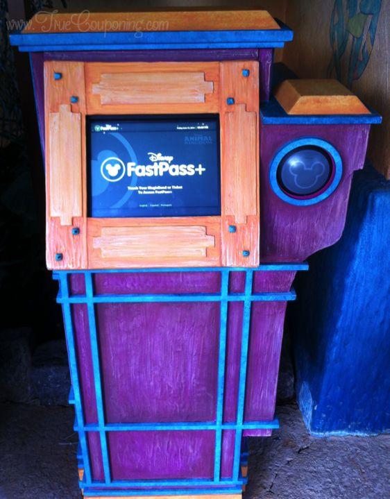 FastPass+ kiosk TC
