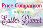 Easter Meal Price Comparison for Week of 3/23 {FREE Download}