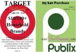 Publix & Target Special Q 3-8