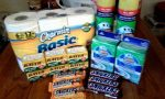 A True Couponing Testimonial from Sage W.! He got all of this for FREE!