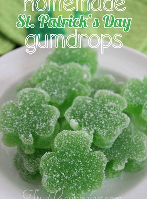 Make Your Own Shamrock Gumdrops for St. Patrick's Day!